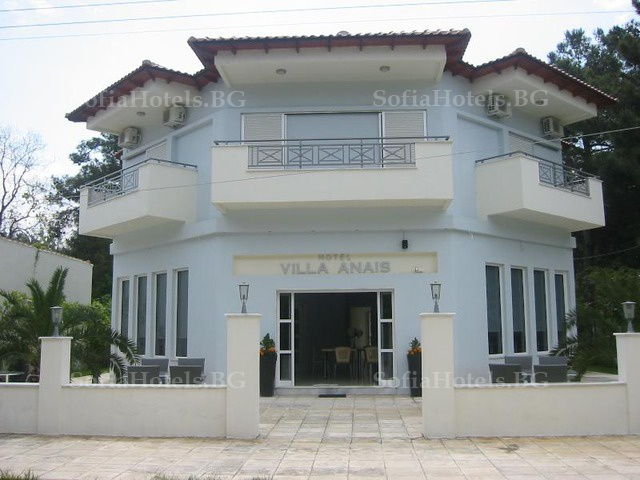 Villa Anais hotel, остров Тасос