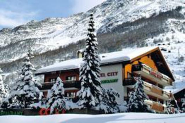 Hotel City, Zermat, Швейцария, Швейцарски Алпи - Цермат