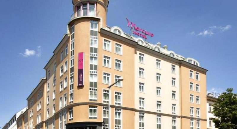 MERCURE WESTBANHOF ****, Виена