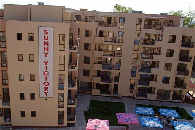 Хотел Съни Виктори Апартаменти, Слънчев Бряг