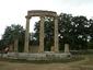 Mястото в храма на Хера където и днес се запалва олимпийския огън