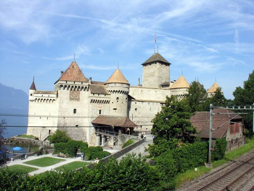 Замъка Шийон