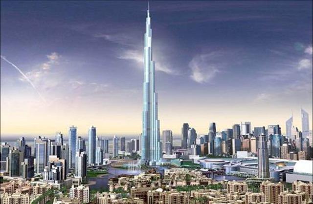 Бурж Халифа, Дубай Мол и Танцуващите фонтани