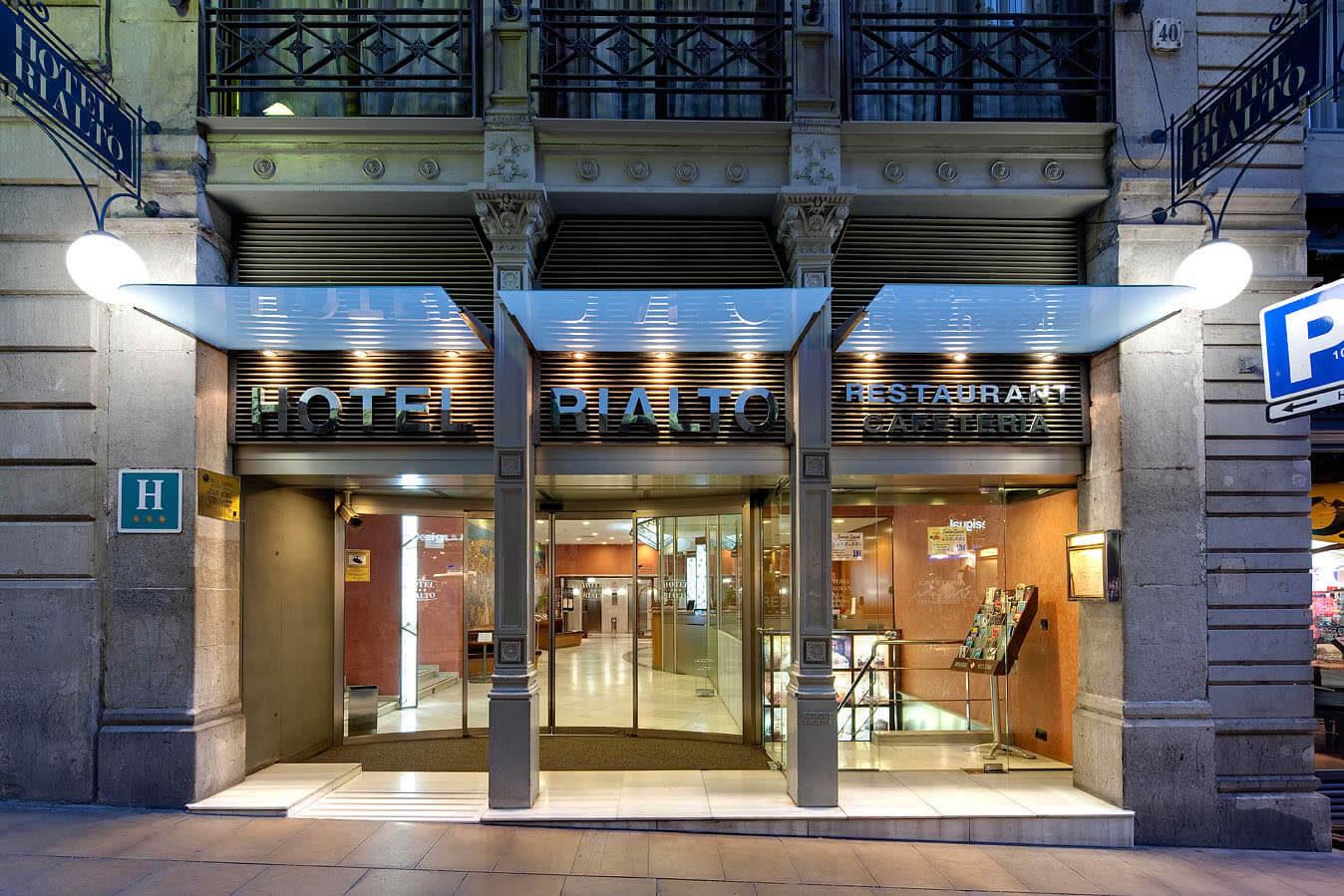 HOTEL RIALTO BARCELONA ***, Коста Брава  - Барселона