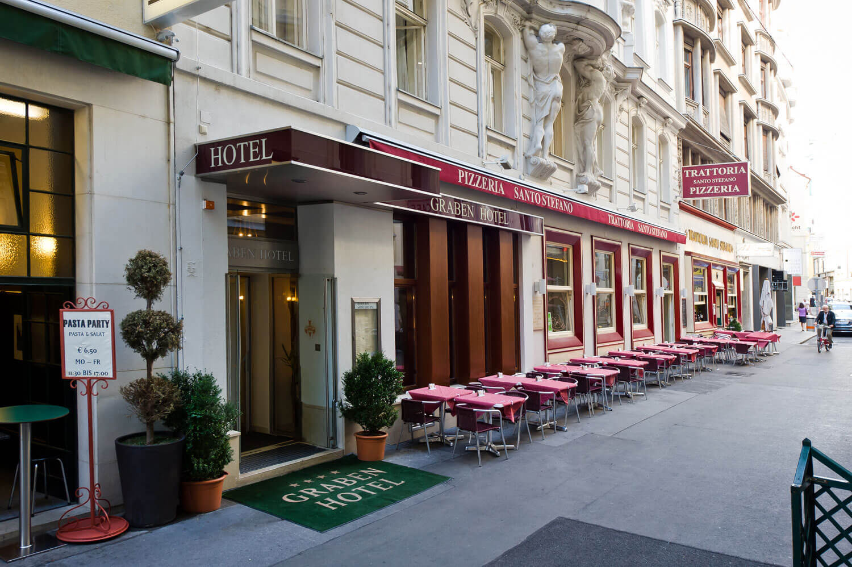 Hotel Graben****, Виена