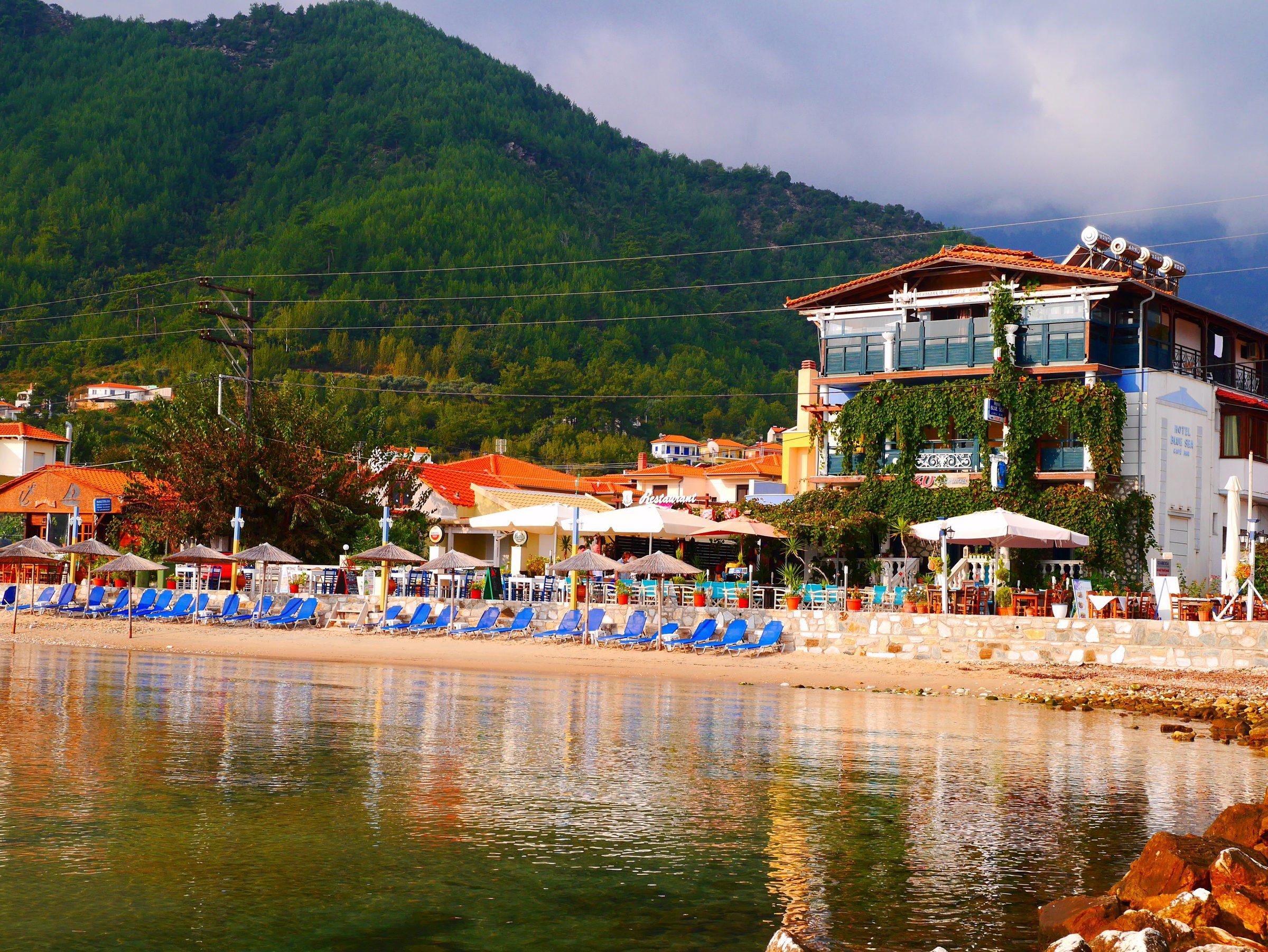 Blue Sea Beach Hotel, остров Тасос