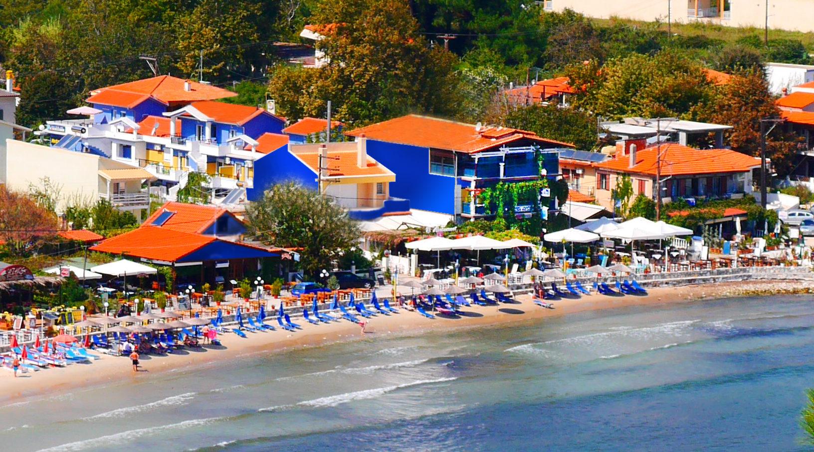 Blue Sea Beach Resort, остров Тасос