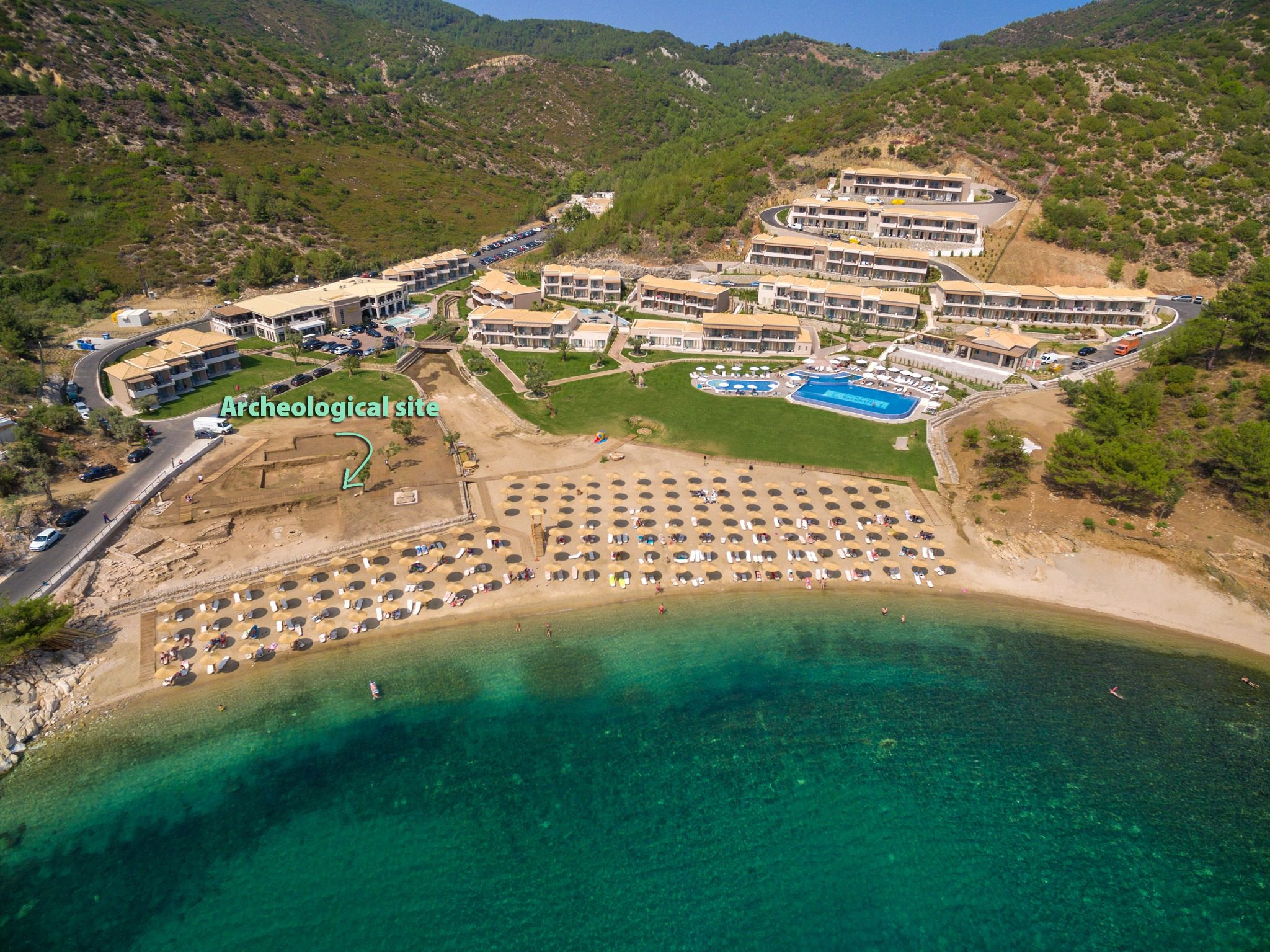 Thassos Grand Hotel and Resort, остров Тасос