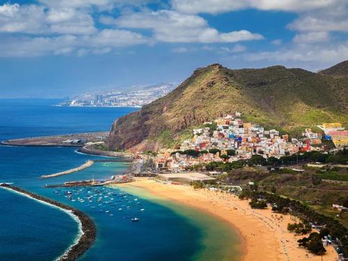 Почивка на Канарските острови - о-в Тенерифе, Коста Адехе, Плая де лас Америкас, август 2019